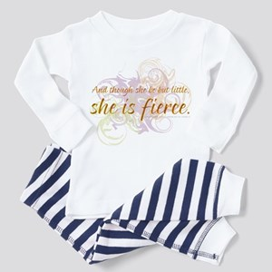 She is Fierce - Swirl Toddler Pajamas