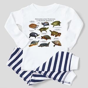 Freshwater Turtle of North America Pajamas
