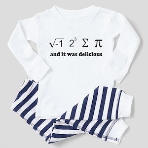 i eight sum pi Toddler Pajamas