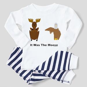 Eagle Blames Moose Toddler Pajamas
