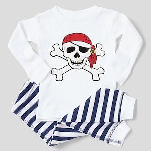 Funny Pirate Toddler Pajamas