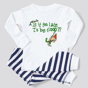 Is It Too Late Toddler Pajamas