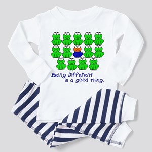 Being Different 1 (FROGS) Toddler Pajamas