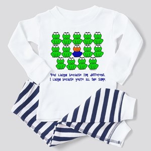 Being Different FROGS 3 Toddler Pajamas