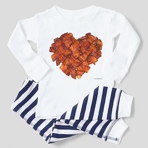 Bacon Heart - Toddler Pajamas