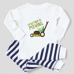 Rather be Mowing Pajamas