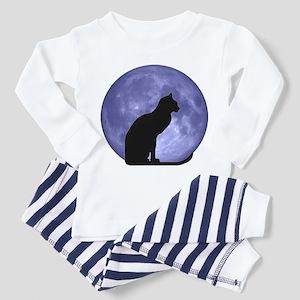 Cat & Moon Toddler Pajamas