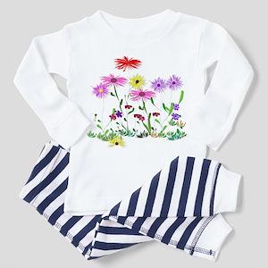 Flower bunch Toddler Pajamas