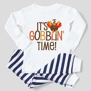 It's Gobblin' Time Toddler Pajamas