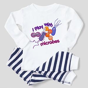 Play with Microbes Toddler Pajamas