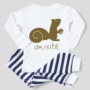 Aw Nuts Squirrel Toddler Pajamas