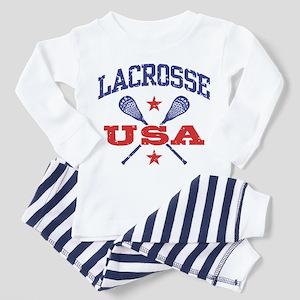 Lacrosse USA Toddler Pajamas