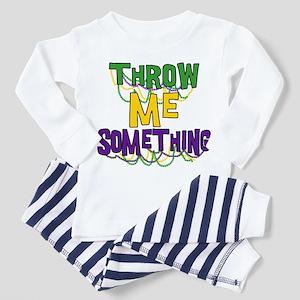 Mardi Gras Throw Me Something Toddler T-Shi