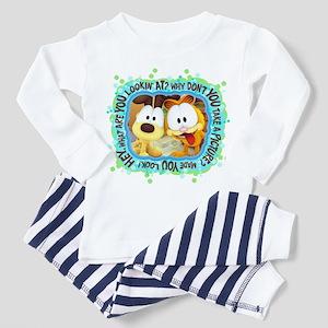 Goofy Faces Toddler Pajamas