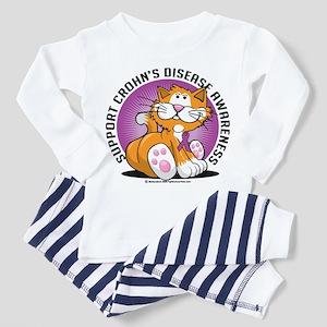 Crohn's Disease Cat Toddler Pajamas