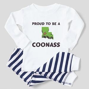 Proud CoonAss Cajun Toddler Pajamas