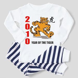 2010 New Year of The Tiger Toddler Pajamas