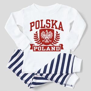 Polska Poland Toddler Pajamas