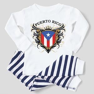 Puerto Rico Toddler Pajamas