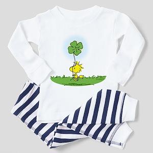 Woodstock Shamrock Toddler Pajamas