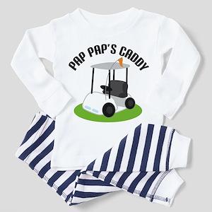 Pap Pap's Caddy Toddler Pajamas