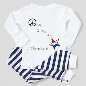Plant the seeds Toddler Pajamas