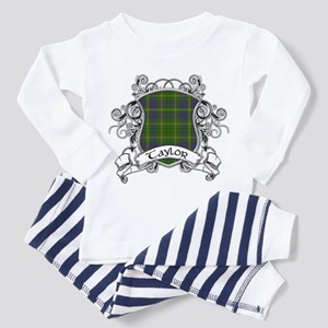 Taylor Tartan Shield Toddler Pajamas