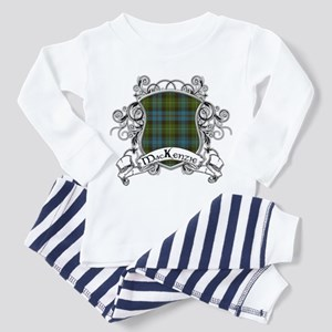 MacKenzie Tartan Shield Toddler Pajamas