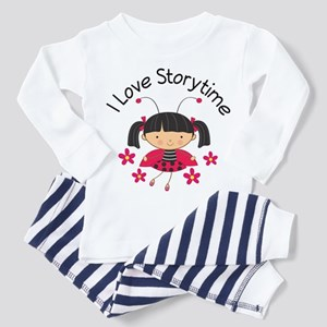 I Love Storytime Reading Toddler Pajamas