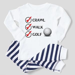 Crawl Walk Golf Pajamas