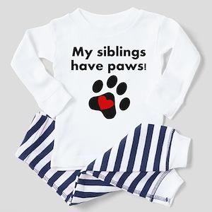My Siblings Have Paws Pajamas