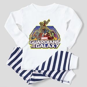 GOTG Team Retro Distressed Toddler Pajamas