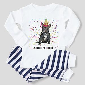 Custom French Bulldog Birthday Toddler Pajamas