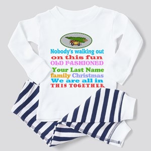 Personalized Griswold Toddler Pajamas