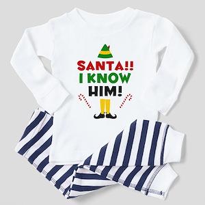 Santa I Know Him Toddler Pajamas