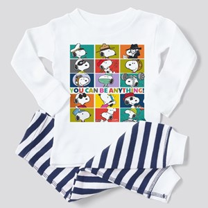 Snoopy-You Can Be Anything Toddler Pajamas