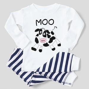 Moo Cow Toddler Pajamas