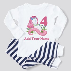 Unicorn Birthday Toddler Pajamas