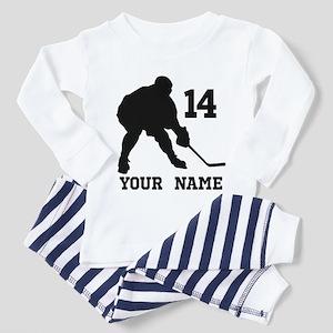 Custom Hockey Player Gift Pajamas