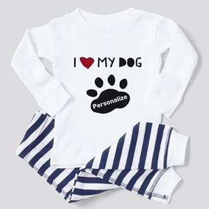 Personalized Dog Toddler Pajamas