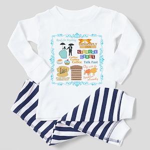 Gilmore Girls Toddler Pajamas