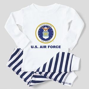 U.S Air Force with Seal Toddler Pajamas