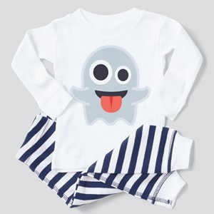 Ghost Emoji Toddler Pajamas
