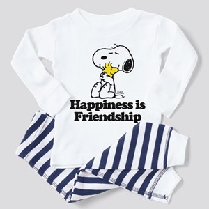 Happiness is Friendship Toddler Pajamas