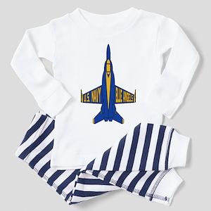 U.S. Navy Blue Angels Jet Toddler Pajamas