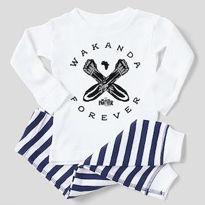 Black Panther Wakanda Forever Toddler Pajamas