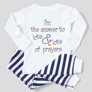 The Answer to Prayers Toddler Pajamas