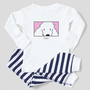 Anime Poodle Toddler Pajamas