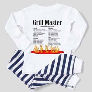 Grill Master Guide Toddler Pajamas