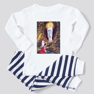Virgin Mary - Lourdes Toddler Pajamas